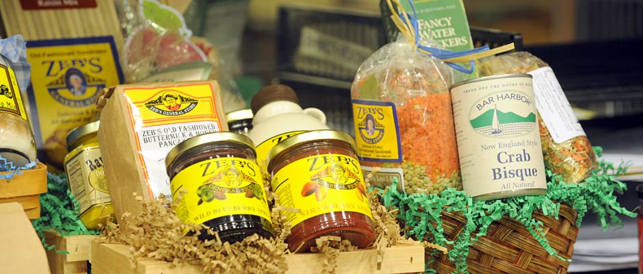 Gift Baskets at Zebs General Store