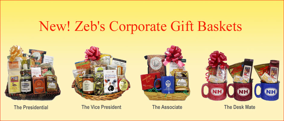 Zeb's Corporate Gift Baskets
