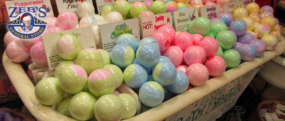 soap balls at Zebs General Store